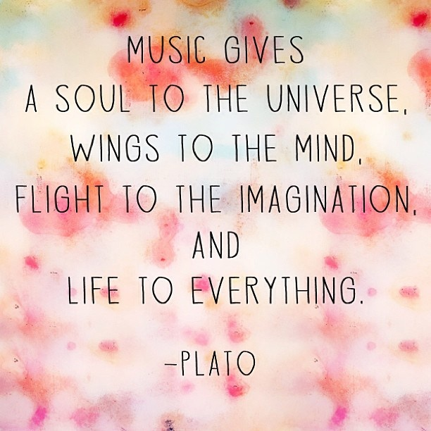Quotes About Love Of Music : My Favorite Quotes About Music! celebrity