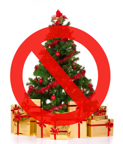 No Christmas Trees Allowed