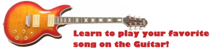 Learn to play your favorite song on the guitar