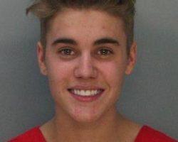Justin Bieber and Khalil Sharieff Tag-Team Stripper, Inhale Fake Boobs: NSFW Pic!!