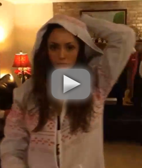 Nina Dobrev Dance-Off