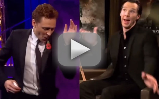 Tom Hiddleston vs. Benedict Cumberbatch: Dance-Off!