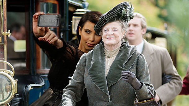 Is Lady Kim Kardashian Making Her Debut On Downton Abbey???? Making Lady Kardashian Downton Debut Abbey