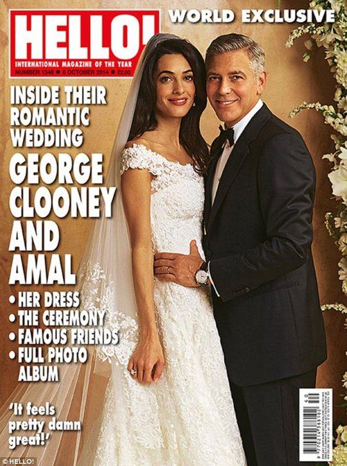 George Clooney's wedding pictures wedding Pictures George Clooney's