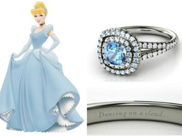 disney inspired engagement rings