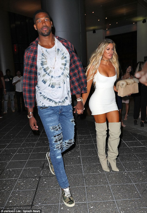 Khloe Kardashian And Her New Man Tristan Thompson Make It