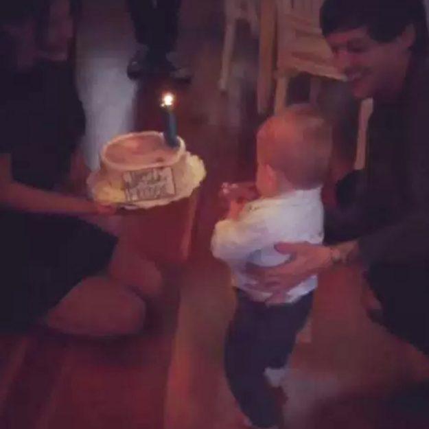 Proud dad Louis Tomlinson celebrates son Freddie's first birthday with Briana Jungwirth