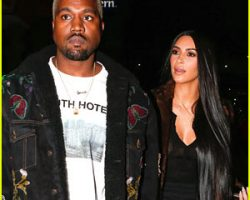 Kim Kardashian & Kanye West Enjoy Romantic Dinner Date