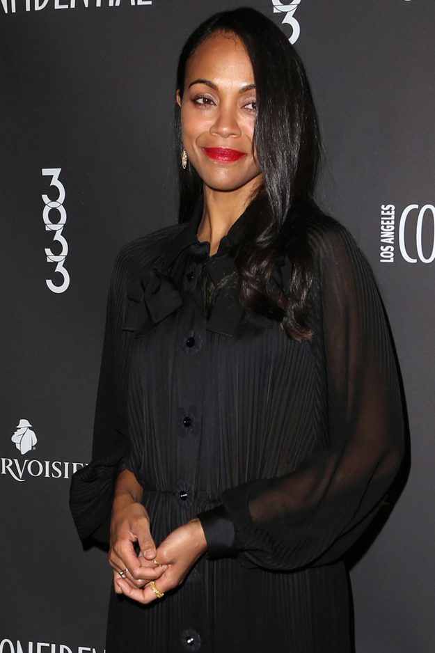 Zoe Saldana welcomes third son with husband Marco Perego – and confirms his unusual name